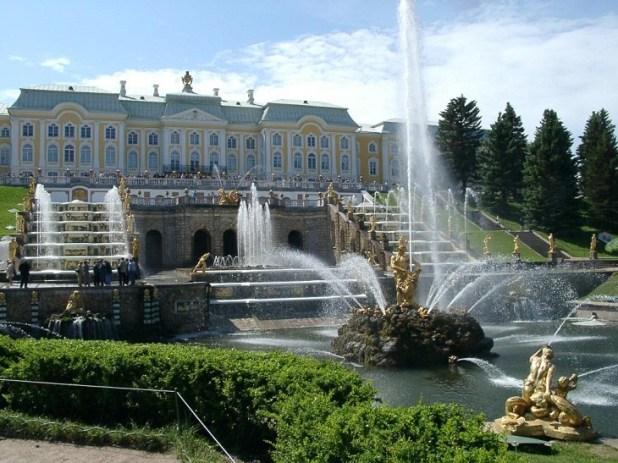 Versalles Ruso (Peterhof)