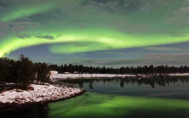 Aurora laponia finlandesa
