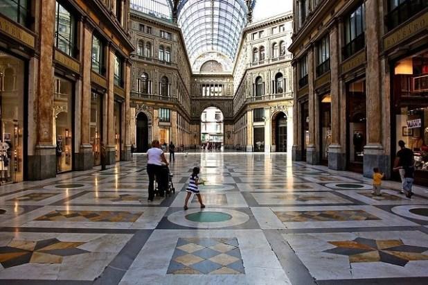 Galería Umberto I de Nápoles