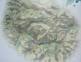 Mapa Valle de Arán