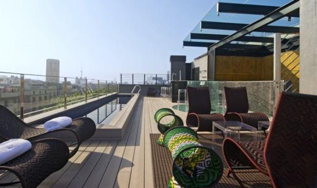 Hotel Barcelona vistas piscina