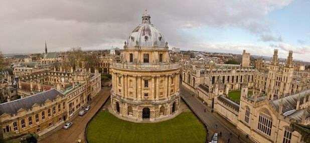 Panoramica de Oxford
