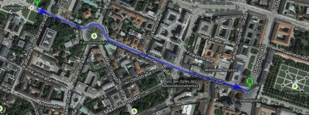 infografia-munich-Odeonplatz