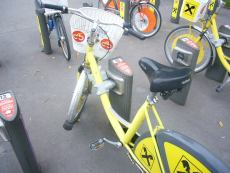 Bicicleta alquiler viena