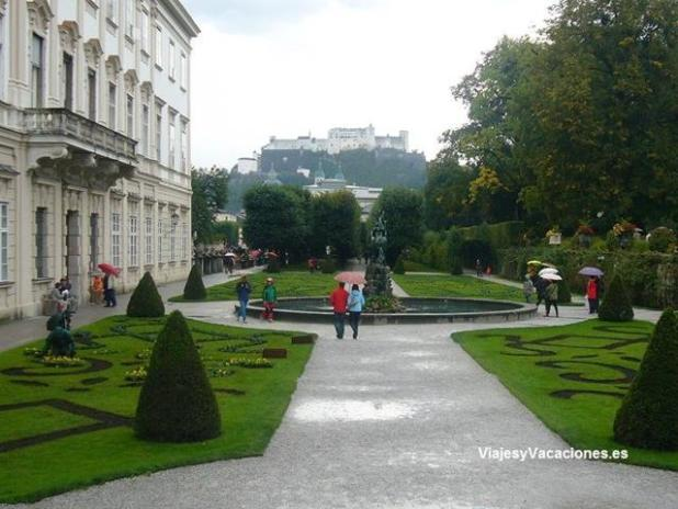 Jardín de Mirabell