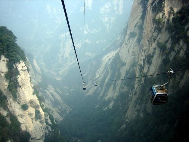 Monte Hua China