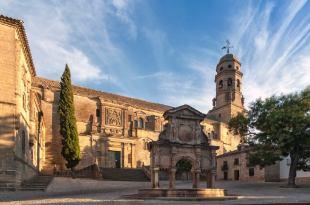 Plaza de Santa María en Baeza