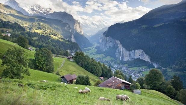Suiza-Valle de Lauterbrunnen