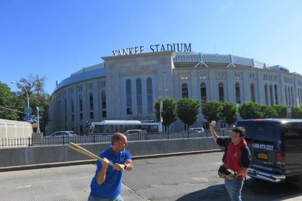 Estadio de béisbol de NY yankees