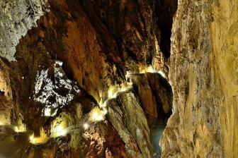 Las cuevas de Skocjan