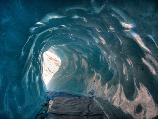 Mer de Glace en Chamonix (Francia)