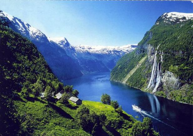 Geirangerfjorden (Noruega)