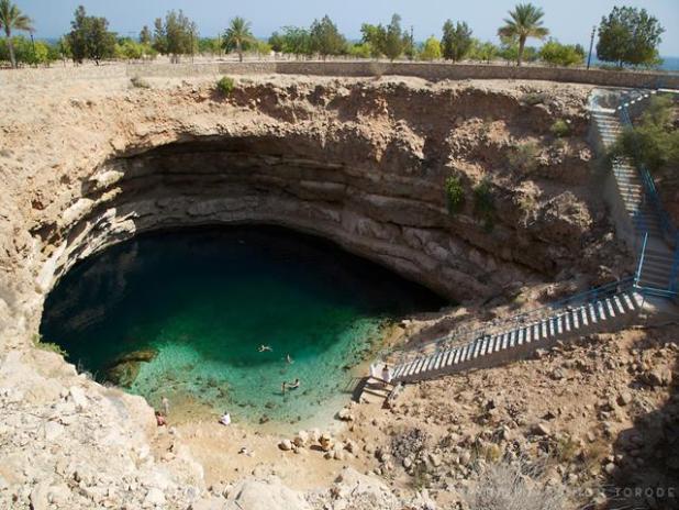 Bahmah, Wadi Shab, Oman