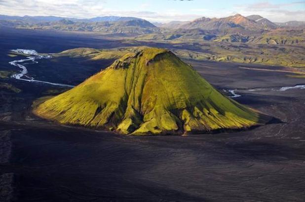 Volcán Maelifell, Myrdalsjökull Glacier Park