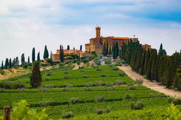Castello Banfi, Toscana (Castillos de Italia)