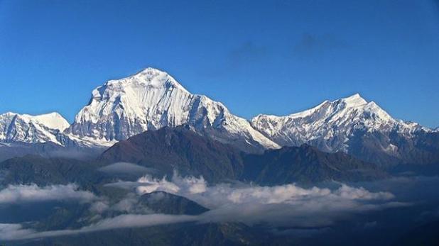 Senderismo por unos de los circuitos del Annapurna en Nepal