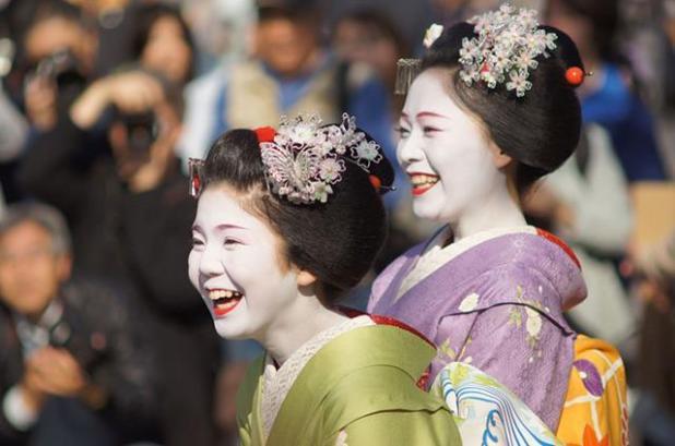 traje de maiko