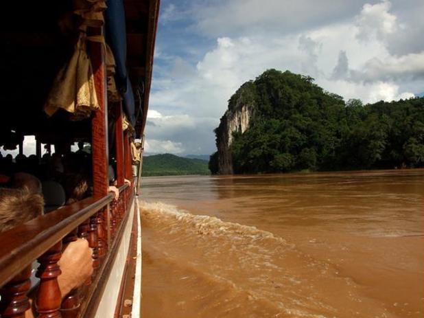 Mekong en Laos
