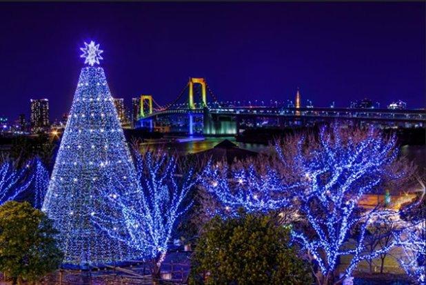 Iluminación de invierno en Tokio