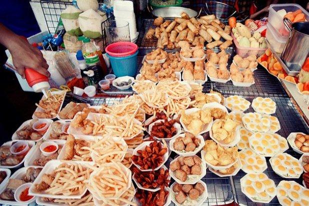 Comida callejera en Tailandia