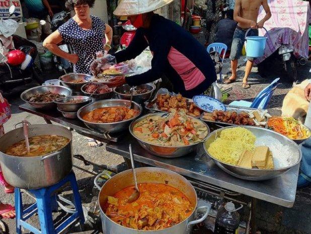 Vietnam comida callejera