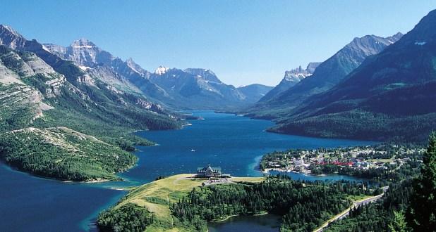 Waterton (Canadá), punto escénico