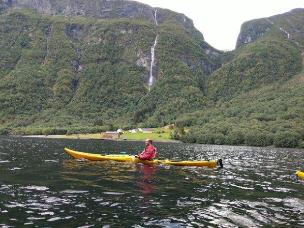 Kayak en Gudvangen