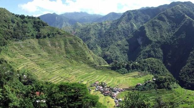 Banaue Rice Terrazas fr arroz en Filipinas