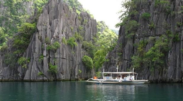 Twin Lagoon en Coron Island