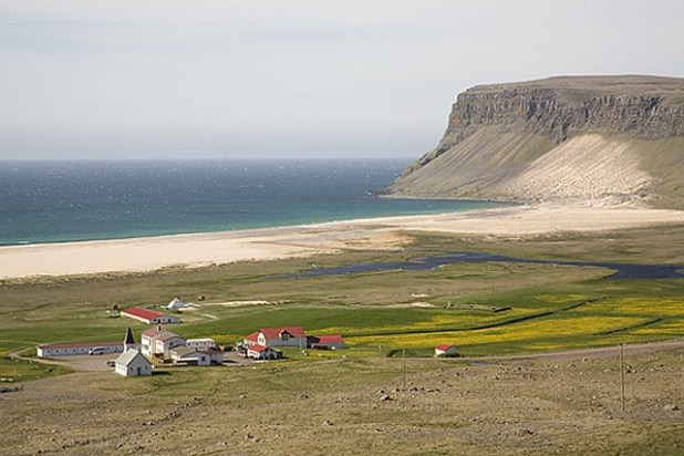 Breidavik, Islandia