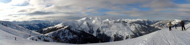 Panorama de Schmittenhöhe