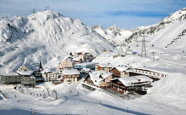 La aldea de St. Christoph (Suiza)