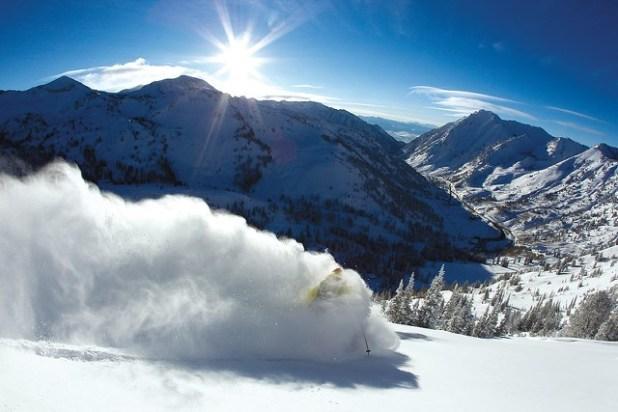 Esquiando en Alta (Utah)