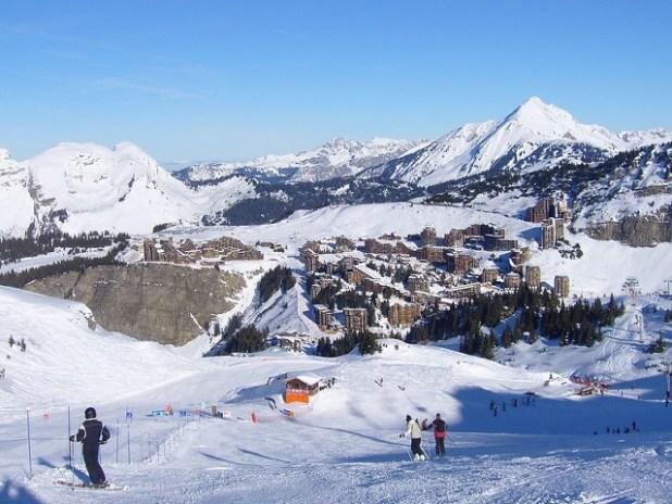 Esquiando en Avoriaz