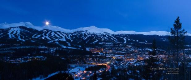 El pueblo de Breckenridge (Colorado)