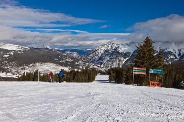 Esquiando en Copper Mountain (Colorado)