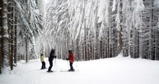 Esquiando en Holiday Valley (Nueva York)