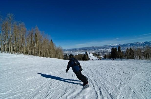 Esquiando en Park City (Utah)
