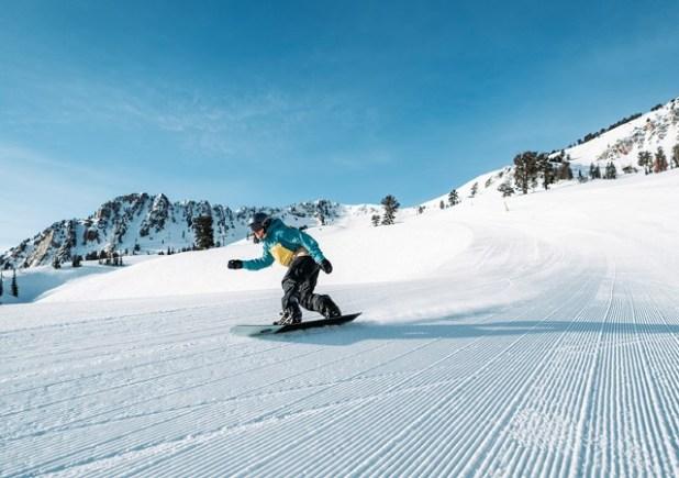 Esquiando en Snowbasin (Utah)