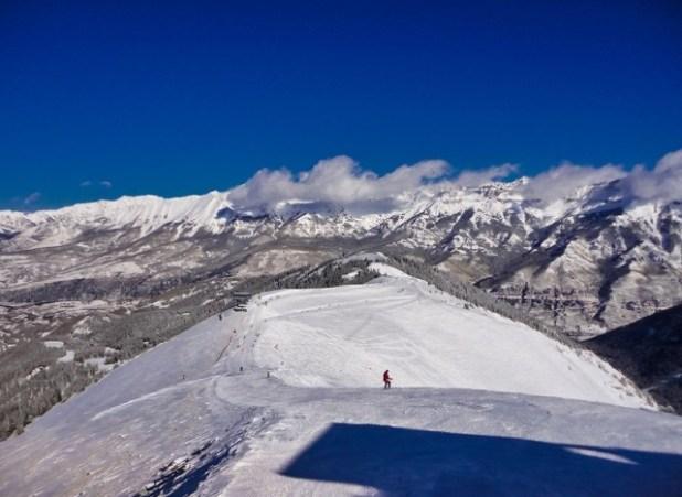 Esquiando en Telluride (Colorado)