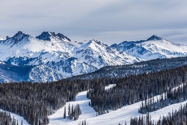 Esquiando en Vail (Colorado)