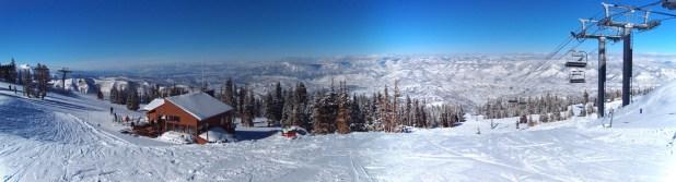 Esquiando en Aspen Snowmass