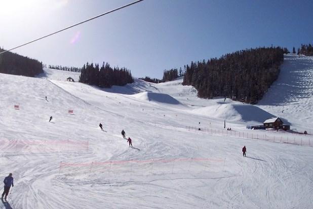 Esquiando en Winter Park (Colorado)