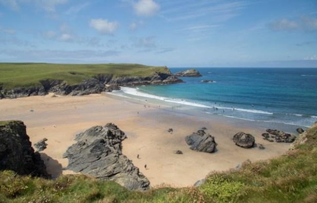 Las playas de Cornwall, Inglaterra
