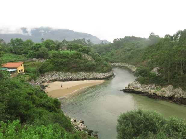 Playa de Guadamía (Asturias)