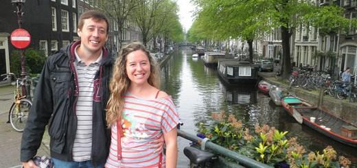 De paseo por Ámsterdam :)