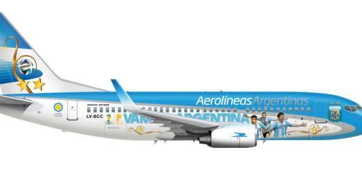 Aerolíneas Argentinas - Mundial Brasil 2014
