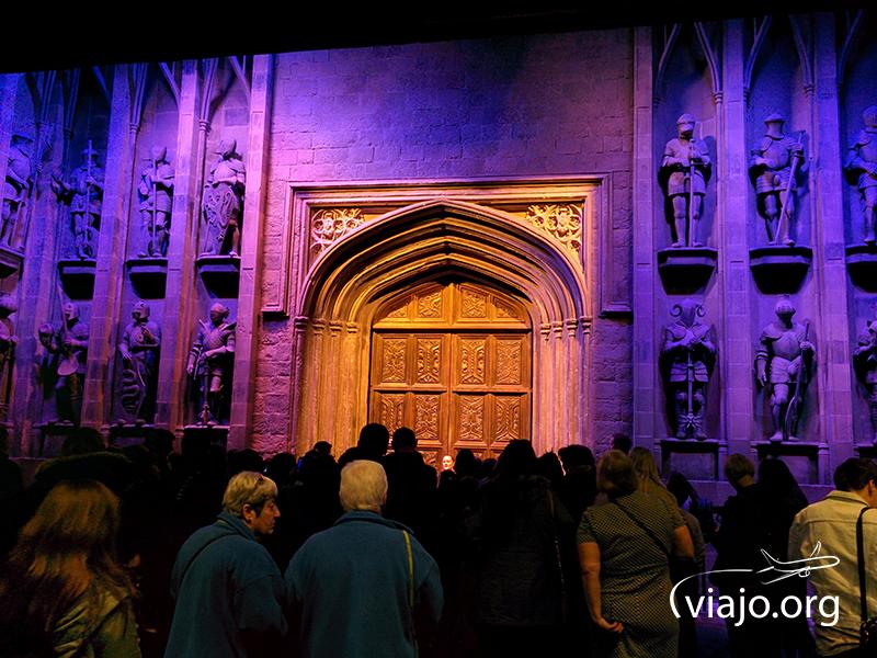 Puerta de ingreso a Hogwarts