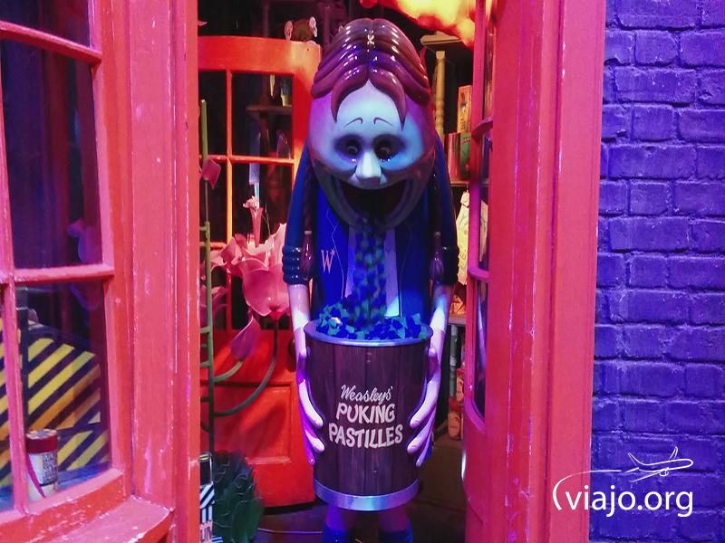 Tienda de dulces y bromas de los hermanos Weasleys