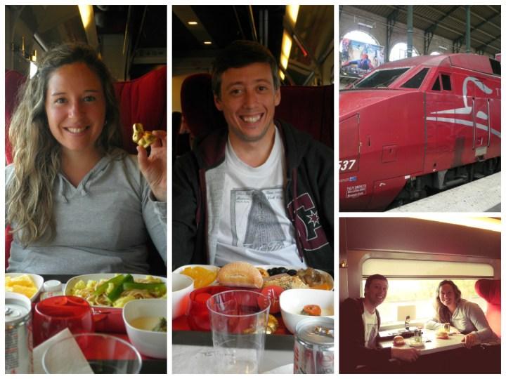 Thalys - De París hacia Amsterdam